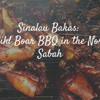 Sinalau Bakas: The Wild Boar BBQ in the North of Sabah