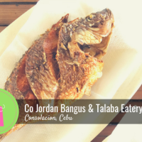 Where to Eat: CoJordan Bangus & Talaba Eatery