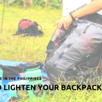 Multi-Day Hike in the Philippines: How I Lighten My Backpack