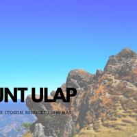 Mt. Ulap: My Recovery Hike