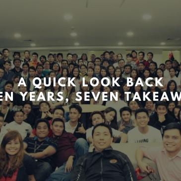 A Quick LookBack Seven Years, Seven Takeaways